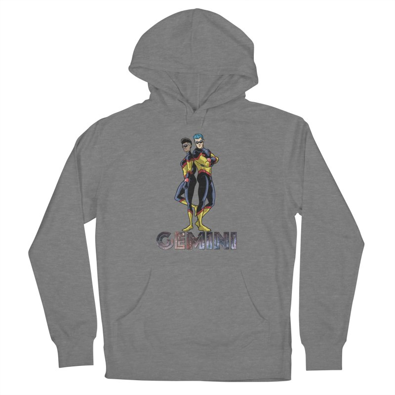 Gemini - Daring Duo Women's Pullover Hoody by incogvito's Artist Shop