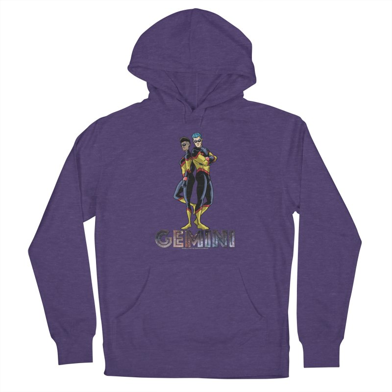 Gemini - Daring Duo Women's French Terry Pullover Hoody by incogvito's Artist Shop