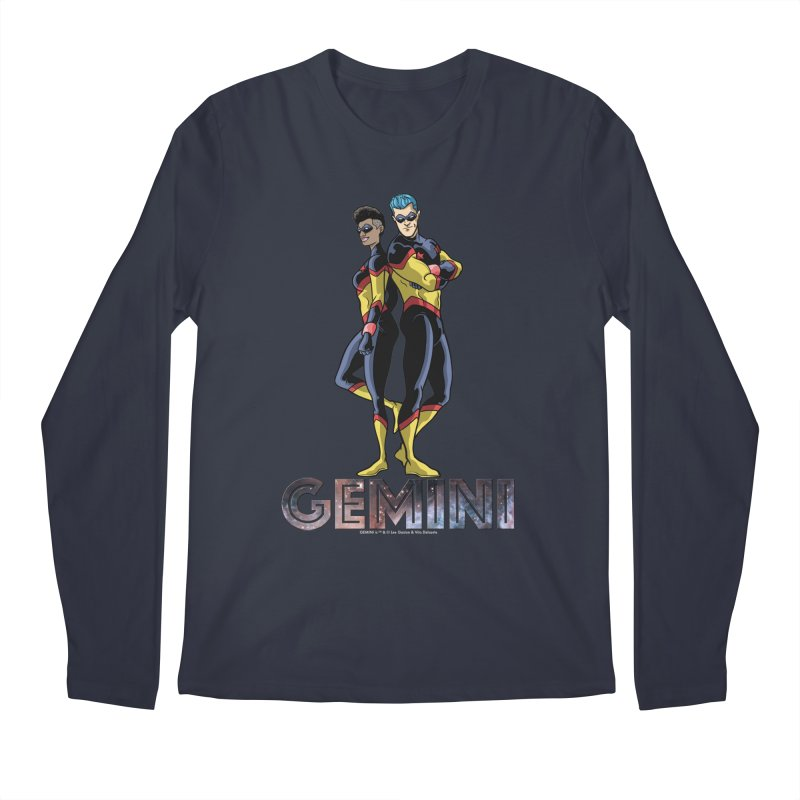 Gemini - Daring Duo Men's Regular Longsleeve T-Shirt by incogvito's Artist Shop