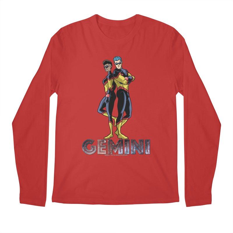 Gemini - Daring Duo Men's Longsleeve T-Shirt by incogvito's Artist Shop