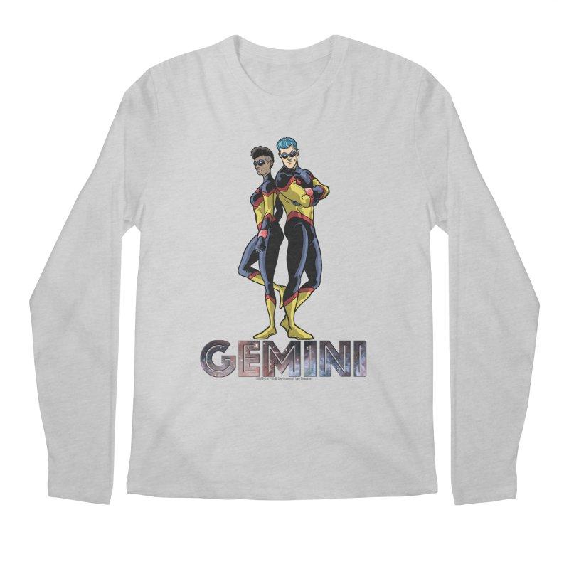 Gemini - Daring Duo Men's Regular Longsleeve T-Shirt by incogvito's Artist Shop