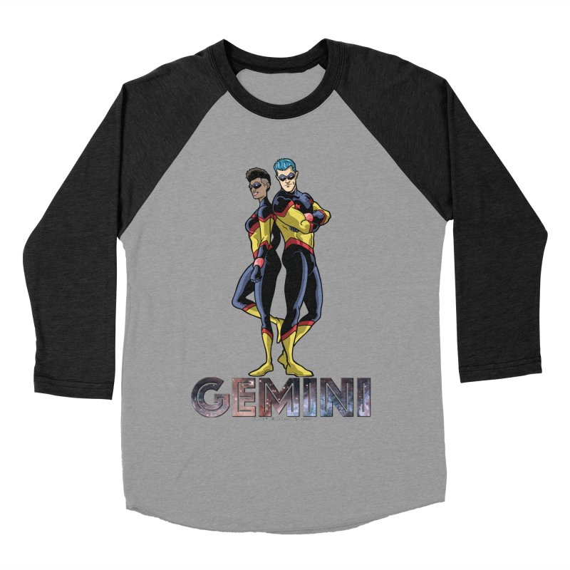 Gemini - Daring Duo Women's Baseball Triblend Longsleeve T-Shirt by incogvito's Artist Shop
