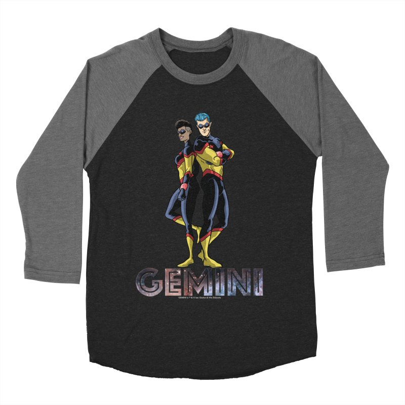 Gemini - Daring Duo Men's Baseball Triblend Longsleeve T-Shirt by incogvito's Artist Shop