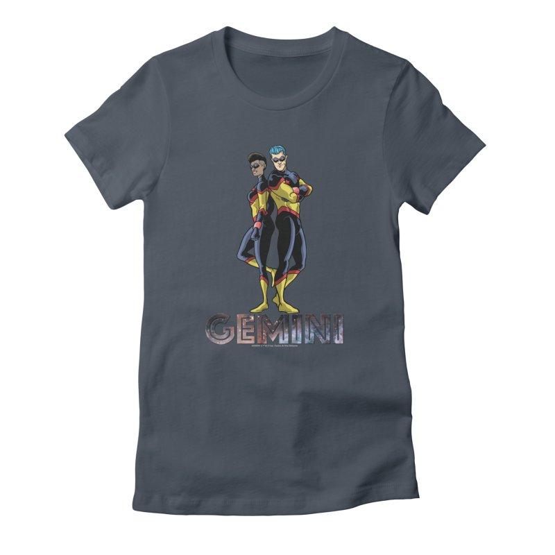 Gemini - Daring Duo Women's T-Shirt by incogvito's Artist Shop