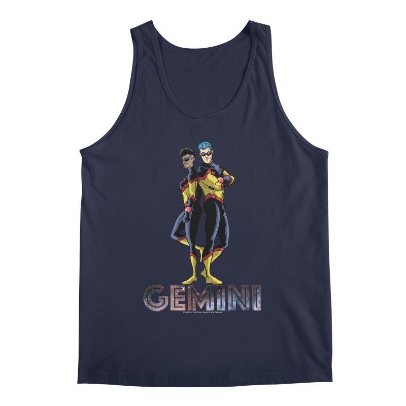Gemini - Daring Duo Men's Regular Tank by incogvito's Artist Shop