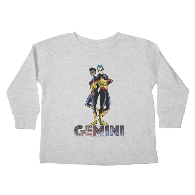 Gemini - Daring Duo Kids Toddler Longsleeve T-Shirt by incogvito's Artist Shop