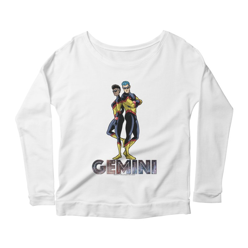 Gemini - Daring Duo Women's Scoop Neck Longsleeve T-Shirt by incogvito's Artist Shop