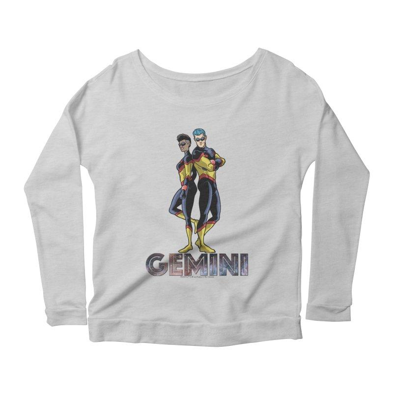 Gemini - Daring Duo Women's Scoop Neck Longsleeve T-Shirt by incogvito's Artist Shop
