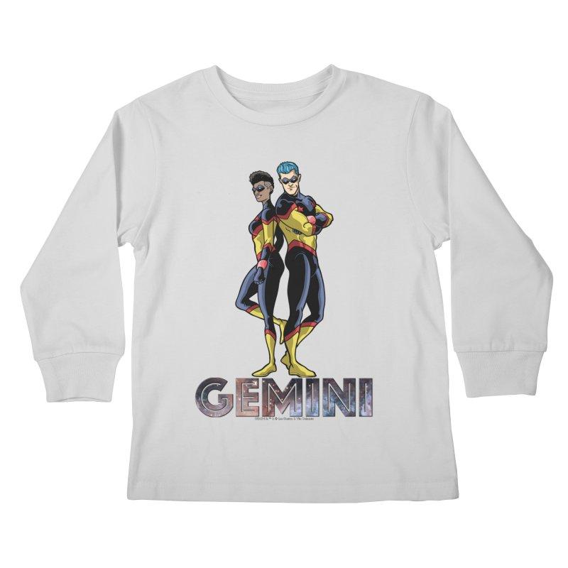 Gemini - Daring Duo Kids Longsleeve T-Shirt by incogvito's Artist Shop