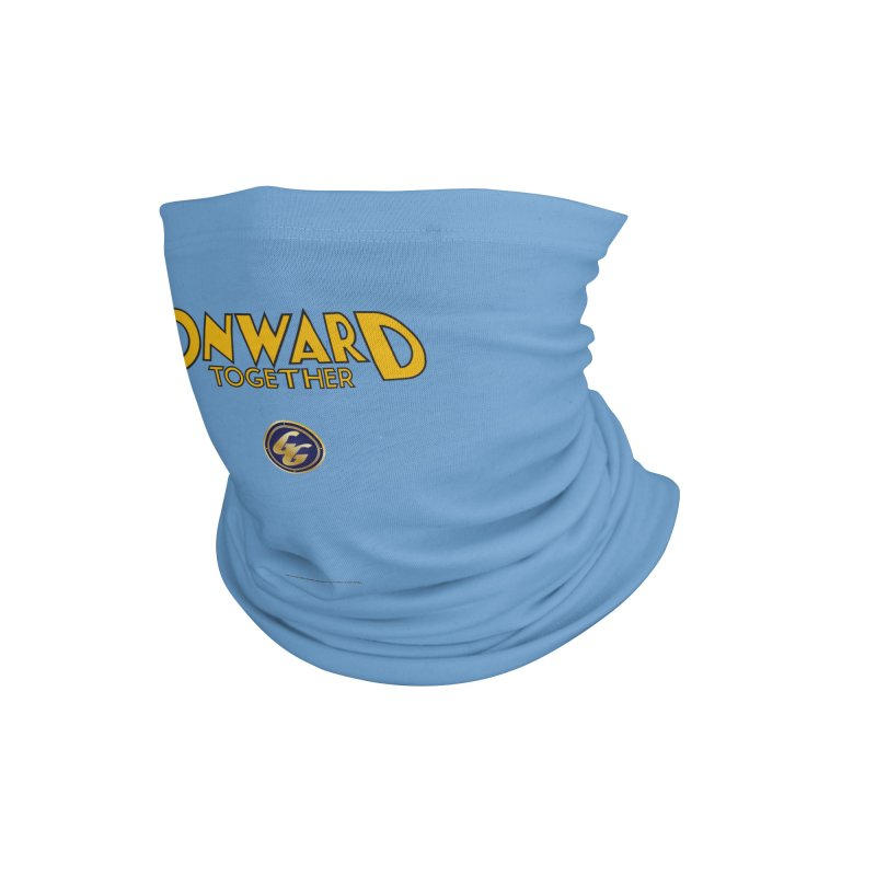 The Golden Guard: Onward Together Accessories Neck Gaiter by incogvito's Artist Shop