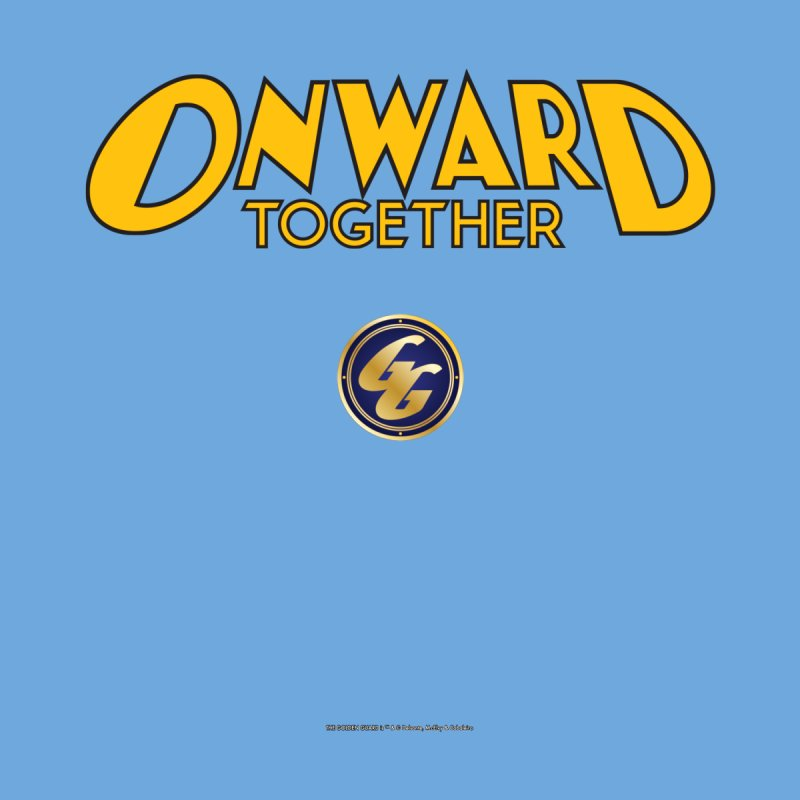 The Golden Guard: Onward Together Men's Sweatshirt by incogvito's Artist Shop