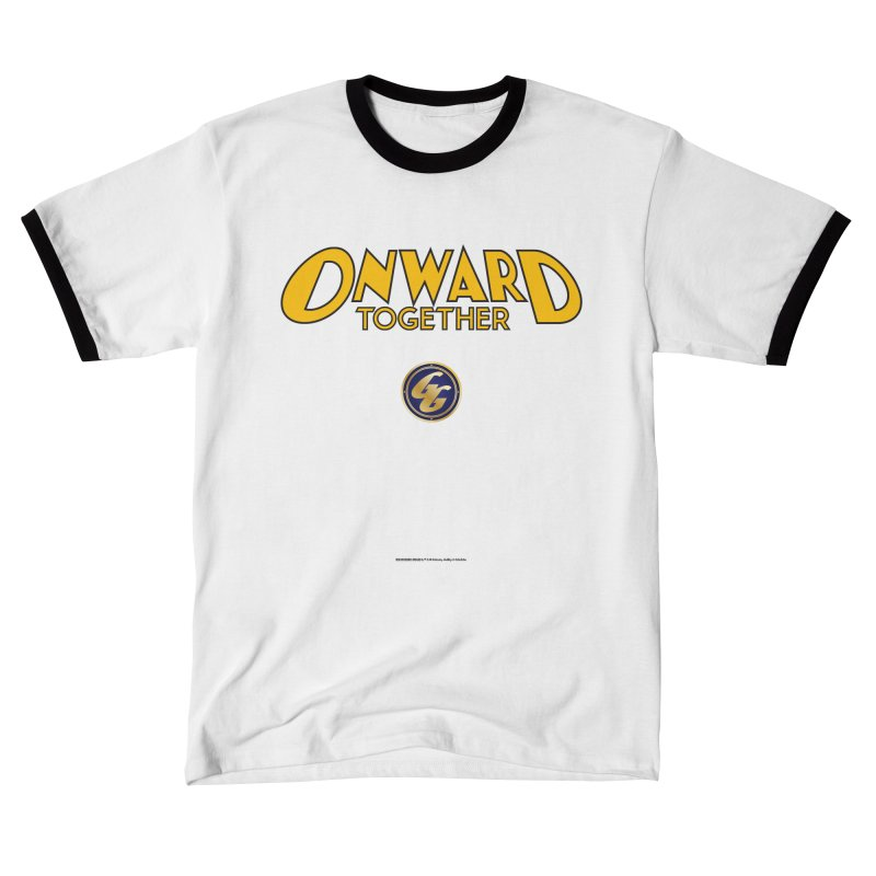 The Golden Guard: Onward Together Men's T-Shirt by incogvito's Artist Shop