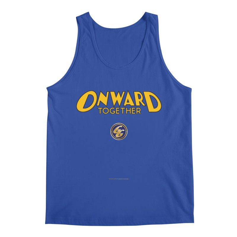 The Golden Guard: Onward Together Men's Tank by incogvito's Artist Shop