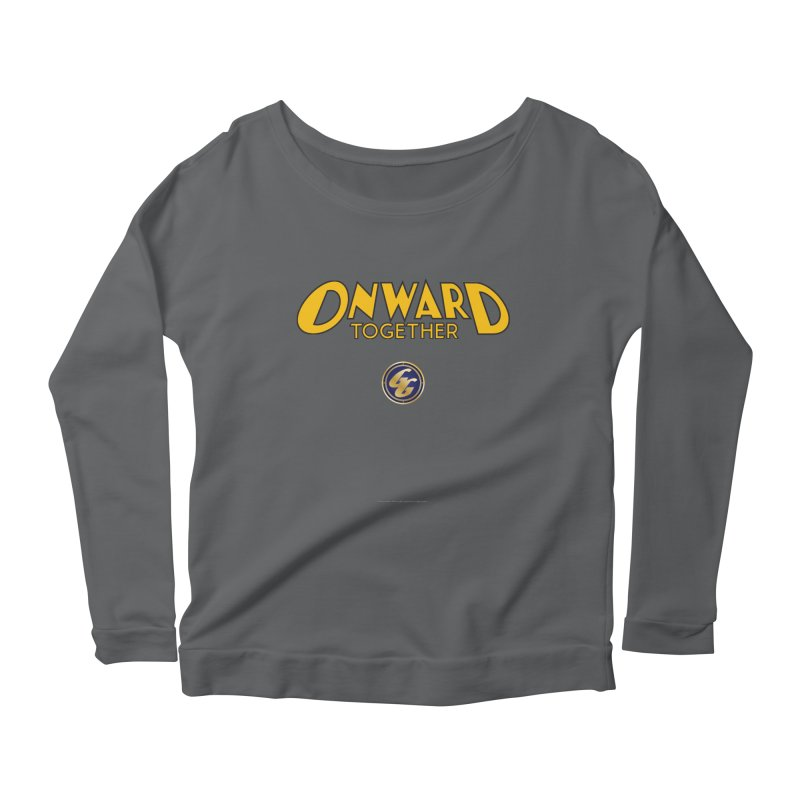 The Golden Guard: Onward Together Women's Longsleeve T-Shirt by incogvito's Artist Shop