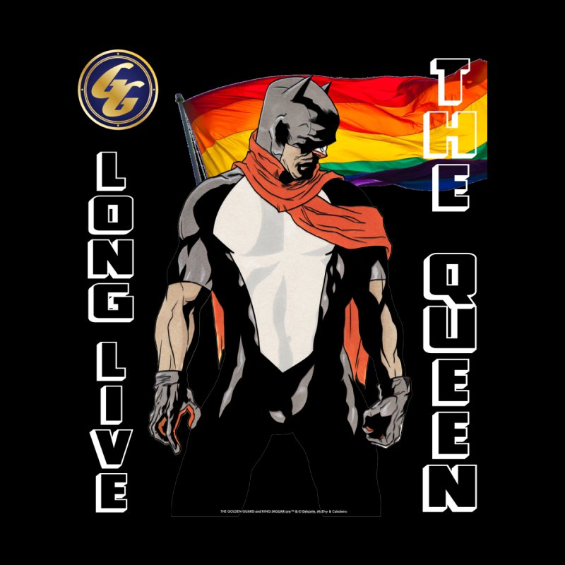 The Golden Guard: Long Live The Queen Kids T-Shirt by incogvito's Artist Shop