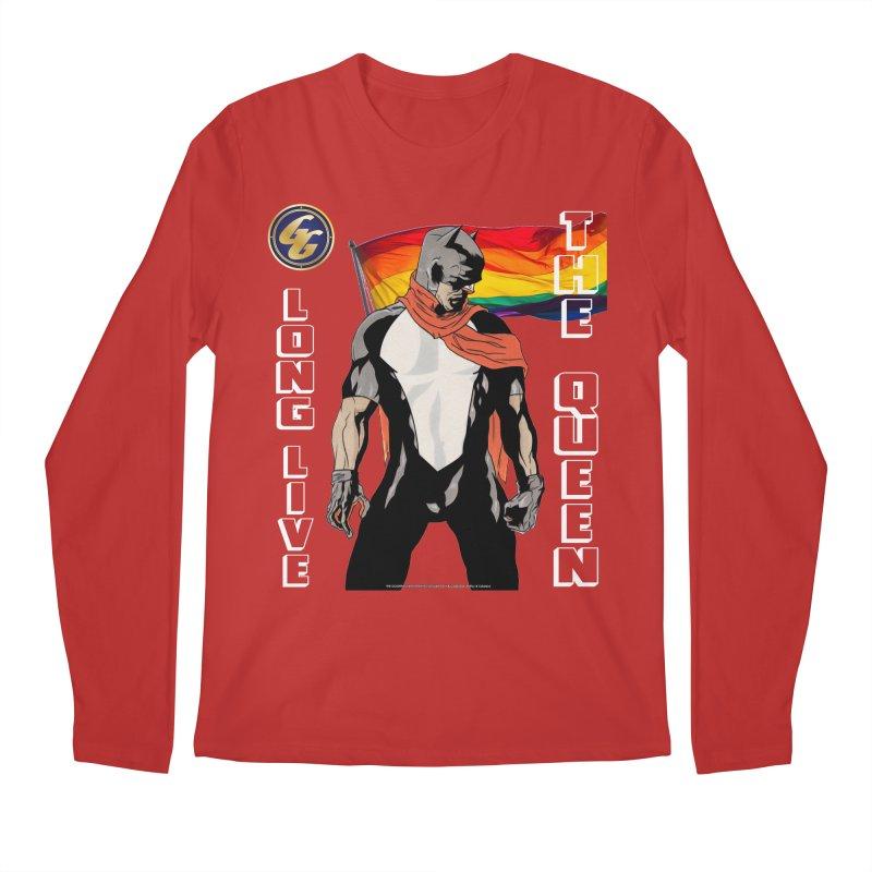 The Golden Guard: Long Live The Queen Men's Longsleeve T-Shirt by incogvito's Artist Shop