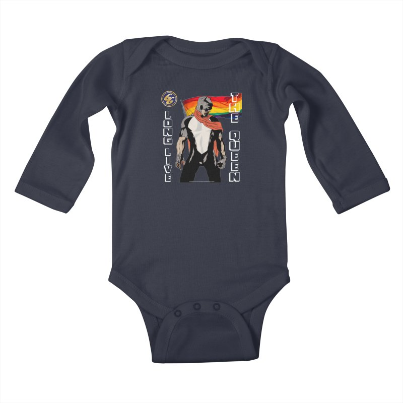 The Golden Guard: Long Live The Queen Kids Baby Longsleeve Bodysuit by incogvito's Artist Shop