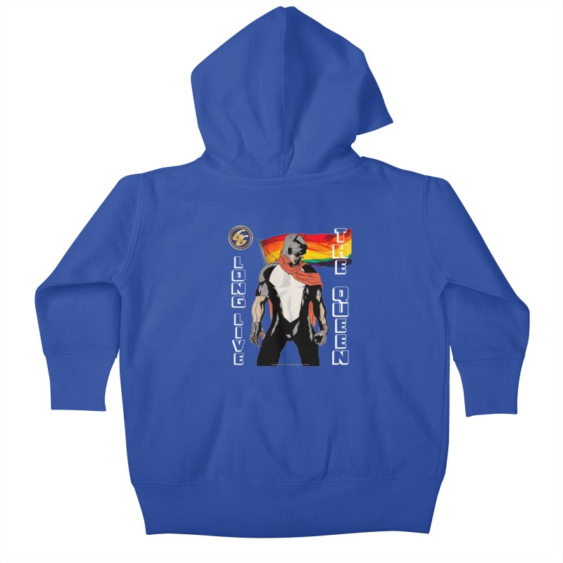 The Golden Guard: Long Live The Queen Kids Baby Zip-Up Hoody by incogvito's Artist Shop