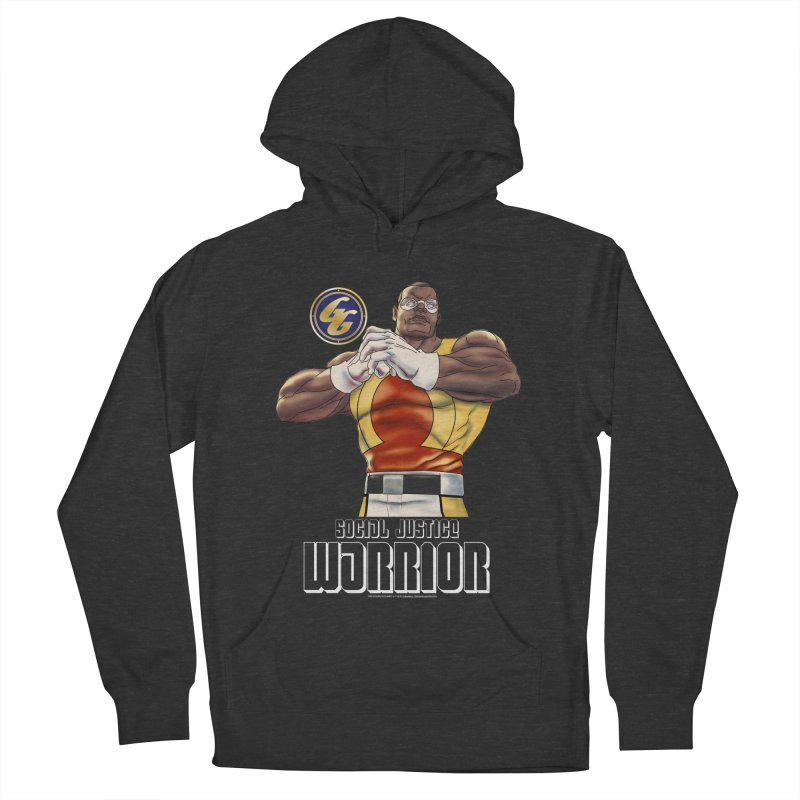 Social Justice Warrior - Cadmus Women's French Terry Pullover Hoody by incogvito's Artist Shop
