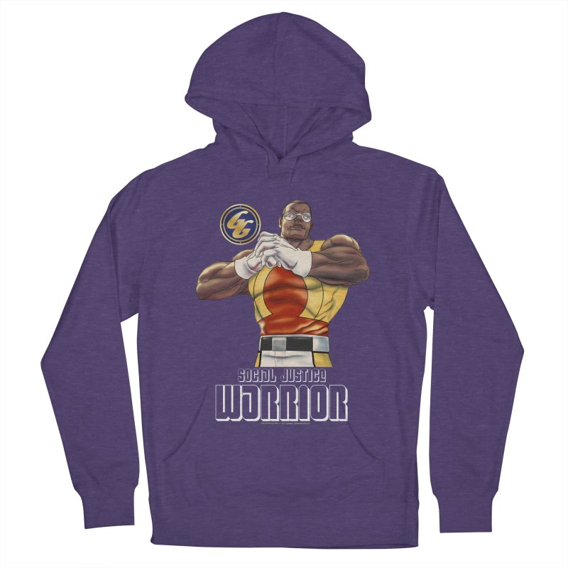 Social Justice Warrior - Cadmus Men's French Terry Pullover Hoody by incogvito's Artist Shop