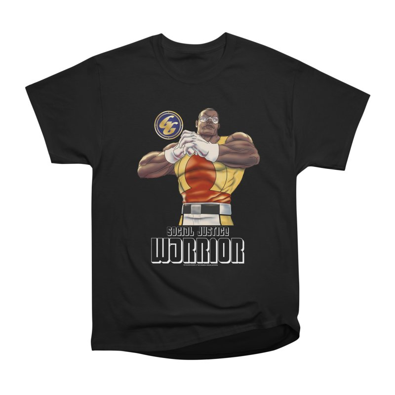 Social Justice Warrior - Cadmus Men's Heavyweight T-Shirt by incogvito's Artist Shop
