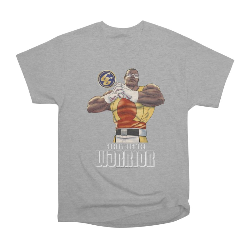 Social Justice Warrior - Cadmus Men's Heavyweight T-Shirt by incogvito's Artist Shop