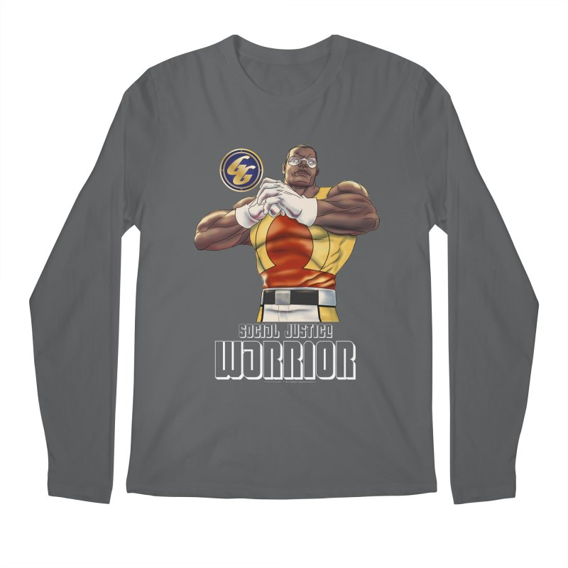 Social Justice Warrior - Cadmus Men's Longsleeve T-Shirt by incogvito's Artist Shop