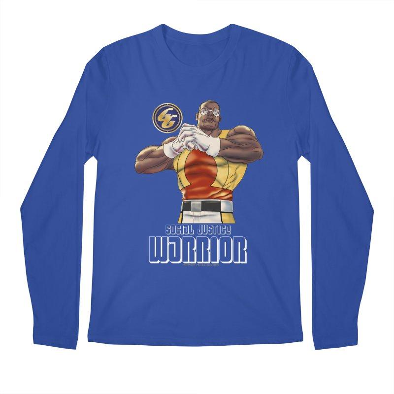Social Justice Warrior - Cadmus Men's Regular Longsleeve T-Shirt by incogvito's Artist Shop