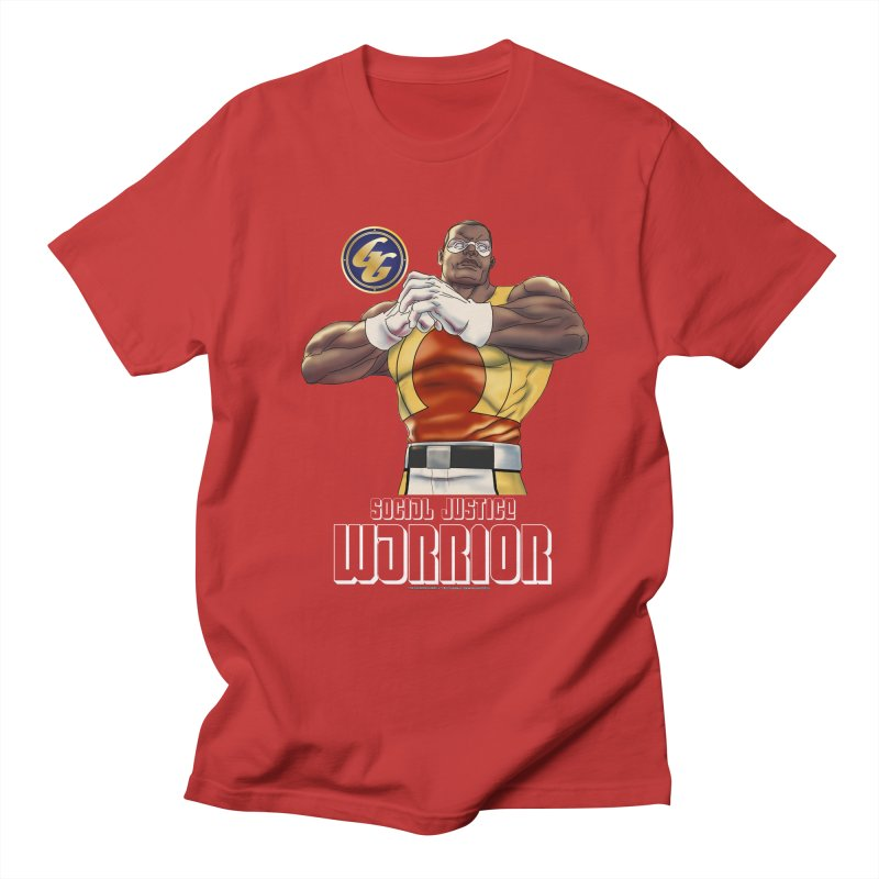 Social Justice Warrior - Cadmus Women's Regular Unisex T-Shirt by incogvito's Artist Shop