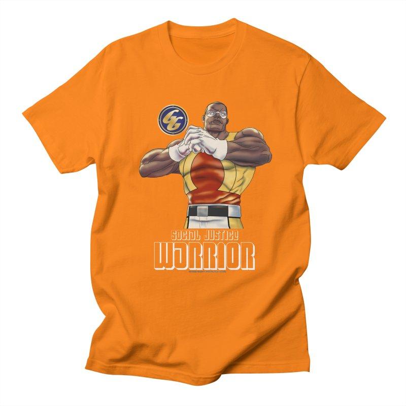 Social Justice Warrior - Cadmus Men's Regular T-Shirt by incogvito's Artist Shop