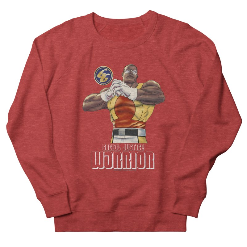 Social Justice Warrior - Cadmus Women's French Terry Sweatshirt by incogvito's Artist Shop