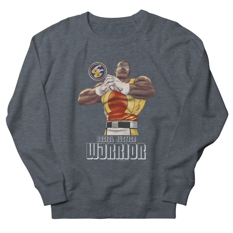 Social Justice Warrior - Cadmus Men's French Terry Sweatshirt by incogvito's Artist Shop