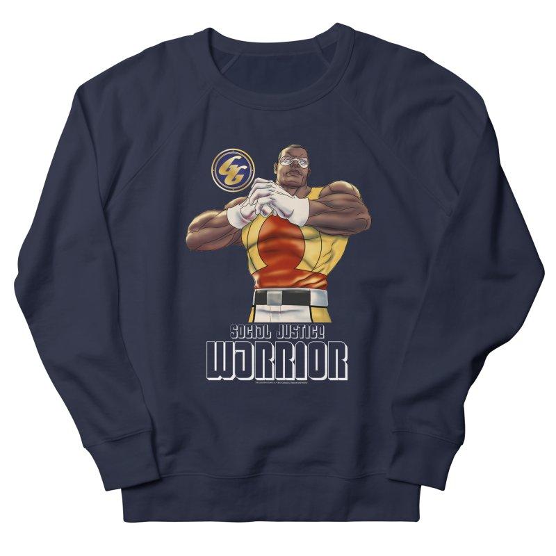 Social Justice Warrior - Cadmus Men's French Terry Sweatshirt by incogvito's Artist Shop