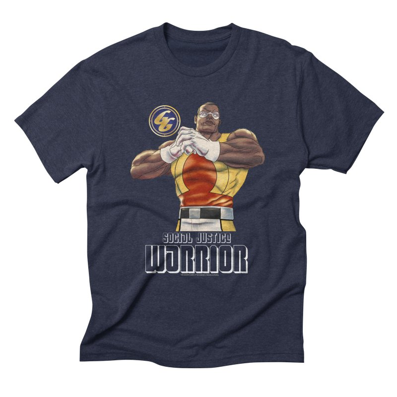 Social Justice Warrior - Cadmus Men's Triblend T-Shirt by incogvito's Artist Shop
