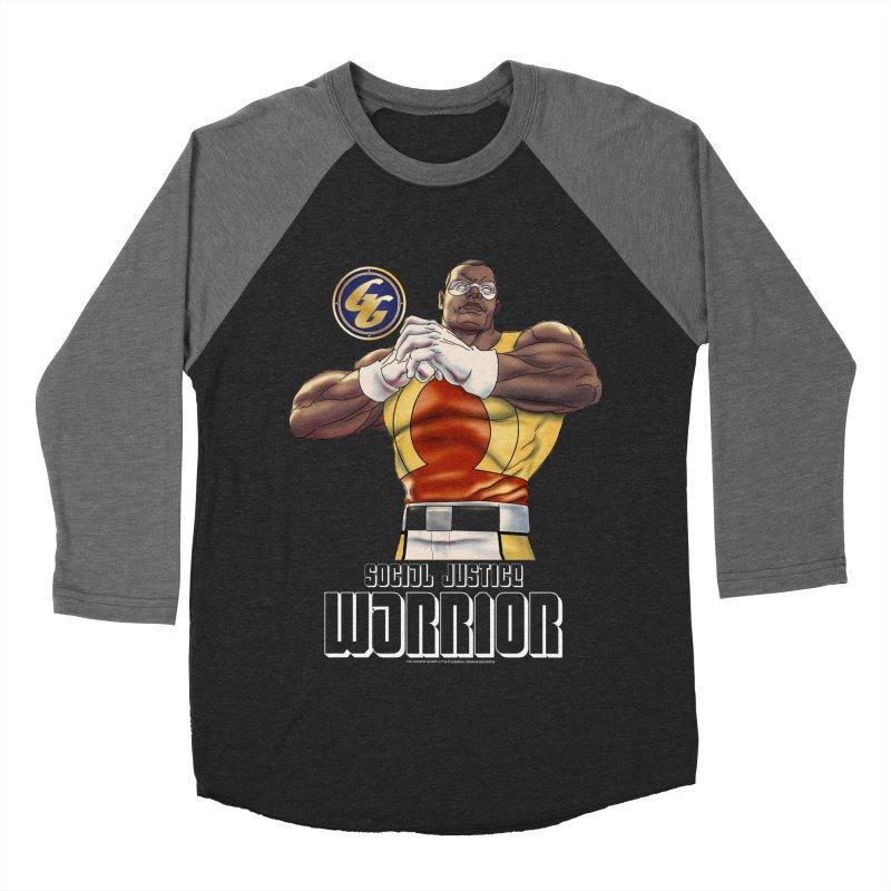 Social Justice Warrior - Cadmus Women's Baseball Triblend Longsleeve T-Shirt by incogvito's Artist Shop