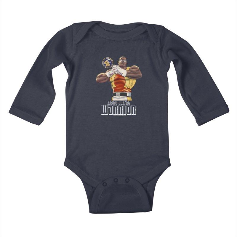Social Justice Warrior - Cadmus Kids Baby Longsleeve Bodysuit by incogvito's Artist Shop
