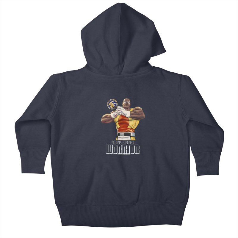 Social Justice Warrior - Cadmus Kids Baby Zip-Up Hoody by incogvito's Artist Shop