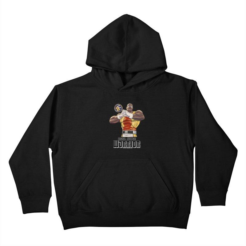Social Justice Warrior - Cadmus Kids Pullover Hoody by incogvito's Artist Shop