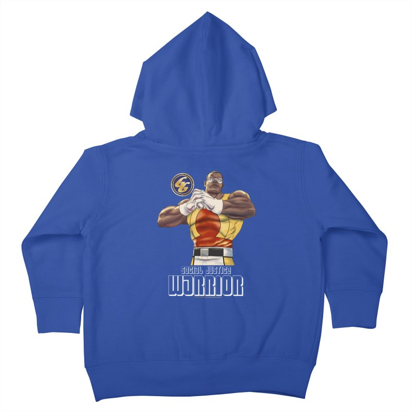 Social Justice Warrior - Cadmus Kids Toddler Zip-Up Hoody by incogvito's Artist Shop