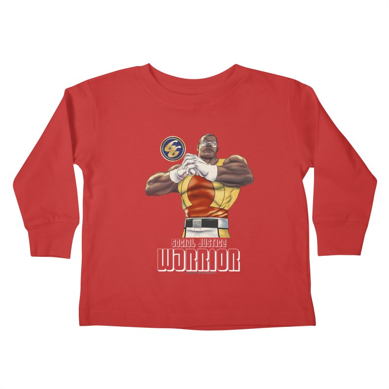 Social Justice Warrior - Cadmus Kids Toddler Longsleeve T-Shirt by incogvito's Artist Shop