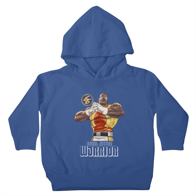 Social Justice Warrior - Cadmus Kids Toddler Pullover Hoody by incogvito's Artist Shop