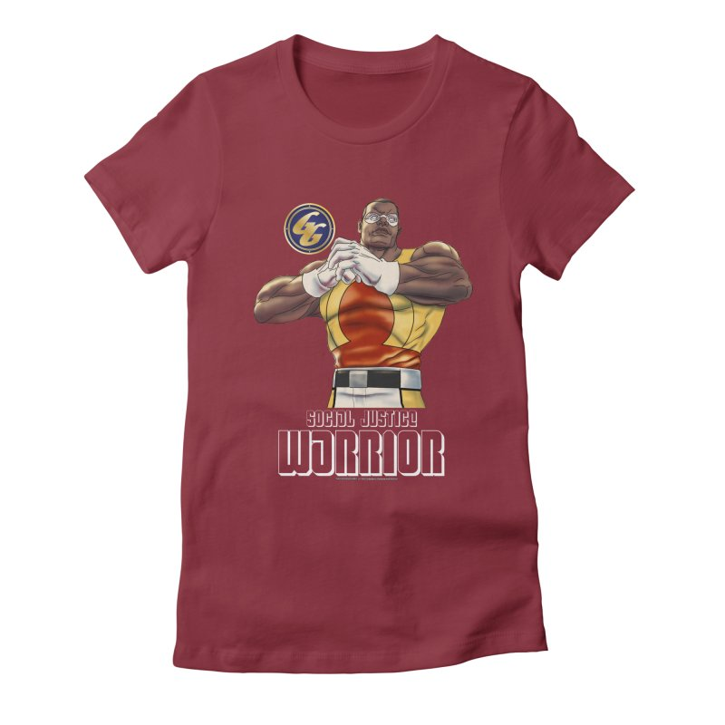 Social Justice Warrior - Cadmus Women's Fitted T-Shirt by incogvito's Artist Shop
