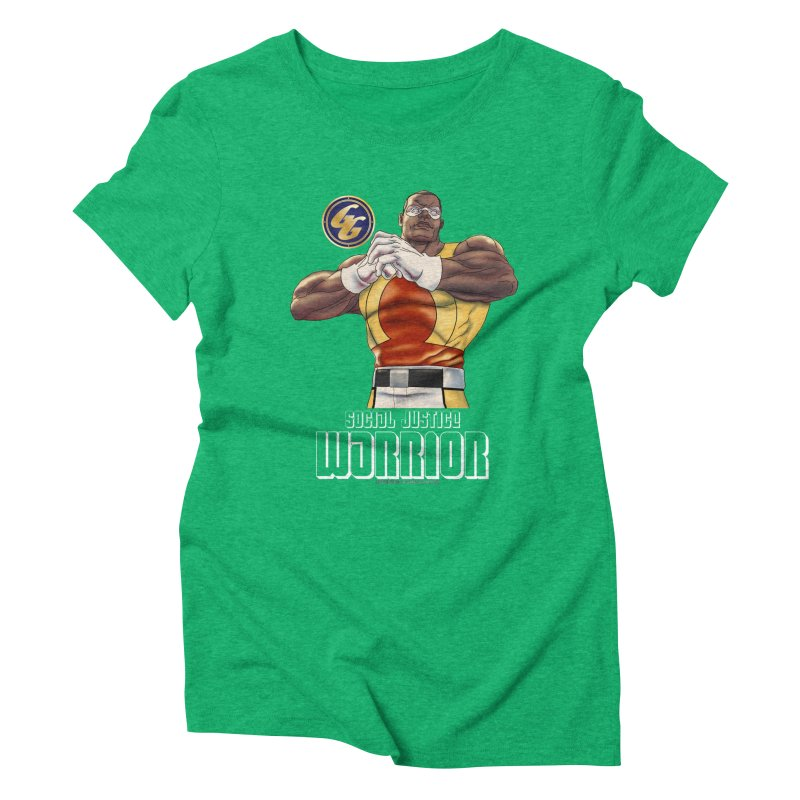 Social Justice Warrior - Cadmus Women's Triblend T-Shirt by incogvito's Artist Shop