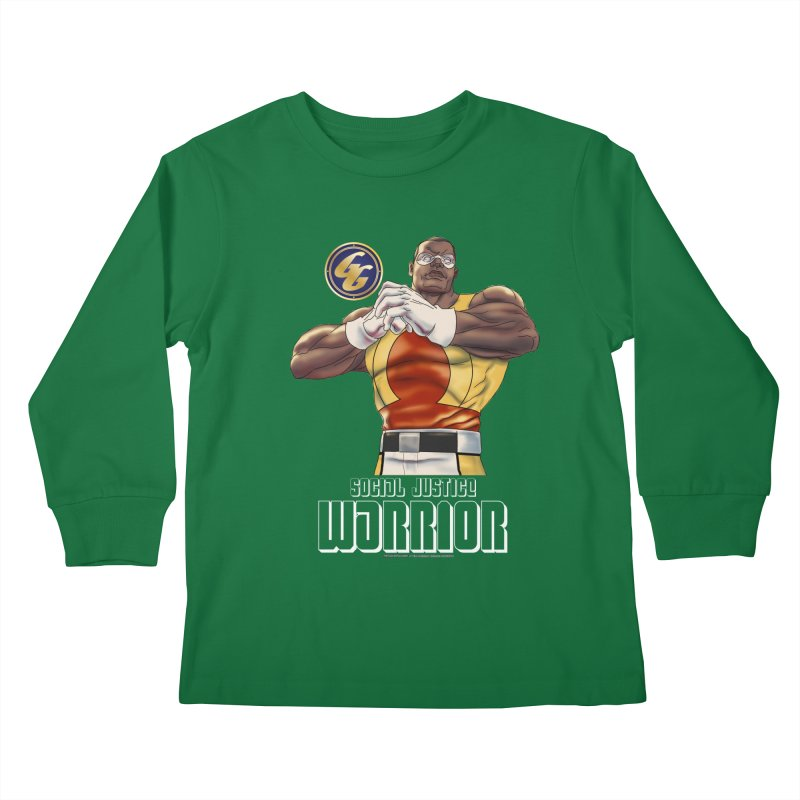 Social Justice Warrior - Cadmus Kids Longsleeve T-Shirt by incogvito's Artist Shop