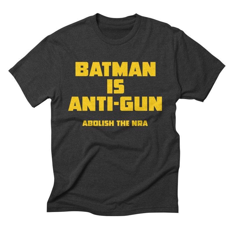 Anti Gun Men's Triblend T-Shirt by incogvito's Artist Shop