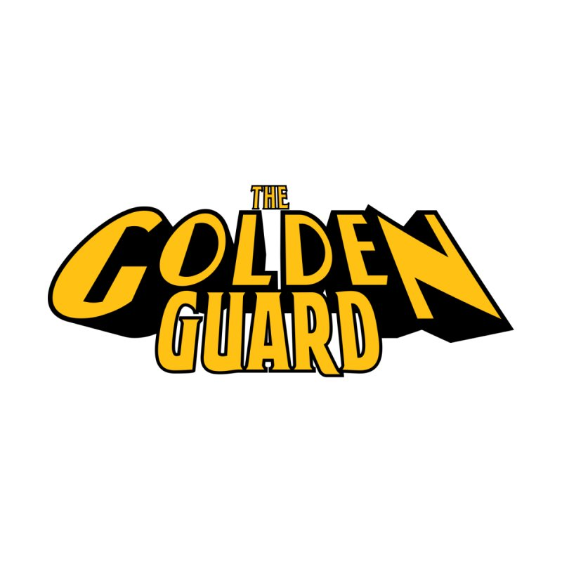 The Golden Guard - Logo Men's T-Shirt by incogvito's Artist Shop
