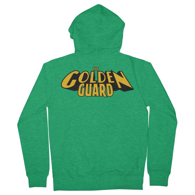 The Golden Guard - Logo Women's Zip-Up Hoody by incogvito's Artist Shop