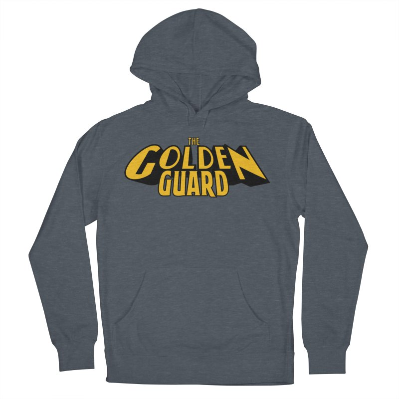 The Golden Guard - Logo Women's French Terry Pullover Hoody by incogvito's Artist Shop