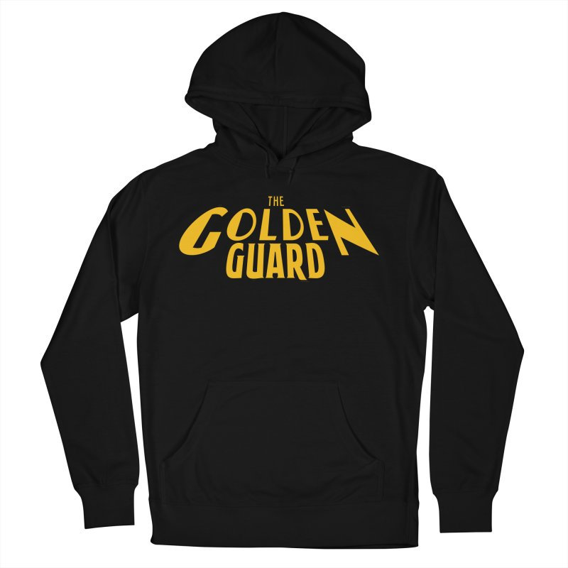 The Golden Guard - Logo Men's French Terry Pullover Hoody by incogvito's Artist Shop