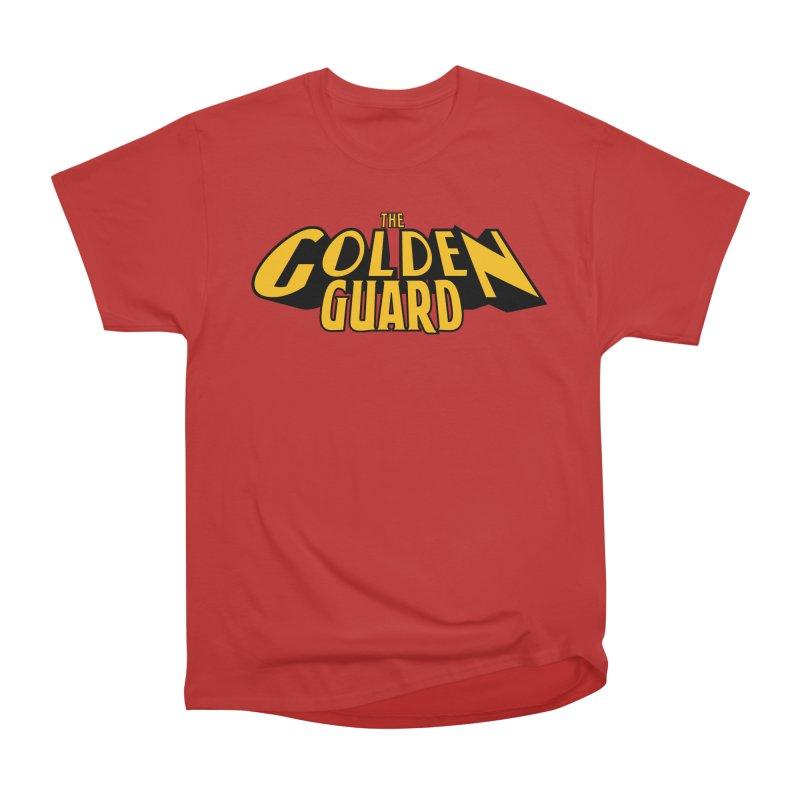 The Golden Guard - Logo Men's Heavyweight T-Shirt by incogvito's Artist Shop